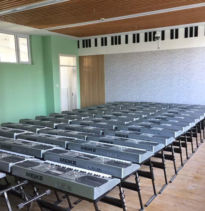 学校背景音乐系统建设